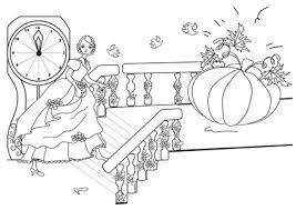 Disegno Di Cenerentola E Della Carrozza Zucca