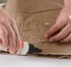 tear mender repairing ripped belt loop