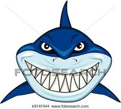 smiling shark clipart. Simple Smiling Clipart  Smiling Shark  Fotosearch Search Clip Art Illustration  Murals Drawings And And Shark M