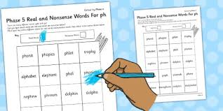 So far you can see we have a variety of sets of worksheets that deal with beginning sounds and rhyming and we are working on more. Phase 5 Ph Color By Phoneme Real And Nonsense Words