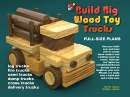 build big wood toy trucks for table saws