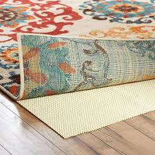 rug non slip better homes and gardens premium cushioned non slip rug pad anti slip rug
