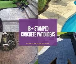 stamped concrete patio ideas