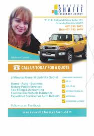 marissa shafie insurance agency get quote home al insurance 7101 e colonial dr goldenrod orlando fl phone number yelp