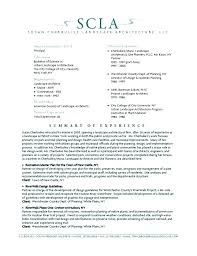 Landscape Architect Resume Sample. Professional Paper United States ...