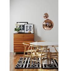 trouva tom dixon small copper globe pendant light