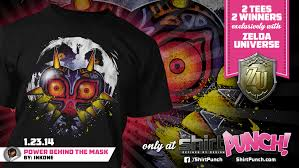 Shirtpunch Size Chart Flash Contest Win This Incredible Majoras Mask Shirt From