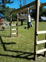 Backyard monkey bars