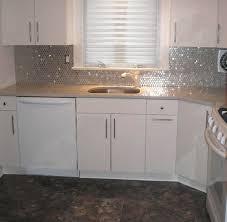 kitchen backsplash stainless steel tiles: home depot stainless steel backsplash stainless steel tile backsplash