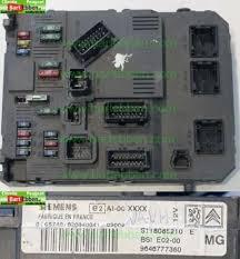 peugeot 206 fuse box large used car part stock bsi e02 00 mg siemens s118085210 g s118085210 e