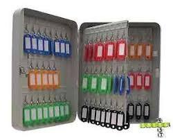 office key holder. Image Is Loading Key-Cabinet-Safe-Tags-Fobs-Case-Storage-Home- Office Key Holder E