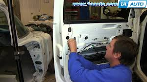 how to install replace outside front door handle 2007 13 chevy silverado gmc sierra you
