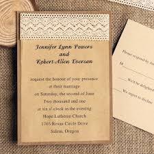 exquisite ribbon kraft paper layered wedding invitations ewls010 Diy Country Wedding Invitations Diy Country Wedding Invitations #18 diy country wedding invitations templates