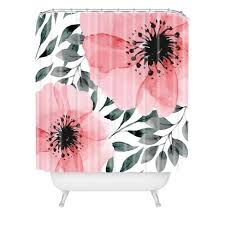 Marta Barragan Camarasa <b>Big Flowers</b> Shower Curtain <b>Pink</b> - Deny ...