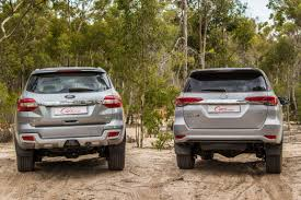 Comparative Review: Ford Everest 3.2 4x4 XLT vs Toyota Fortuner ...