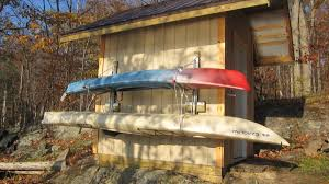 kayak storage shed. Brilliant Shed Winter Storage On A Shed Or Garage Wall Throughout Kayak Storage Shed G
