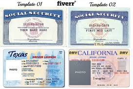 Dmv Ca Bill Of Sale Font Used On Texas Drivers License Id Card Template Birth