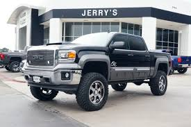 gmc 2015 truck lifted. shop gmc lifted trucks near fort worth at jerryu0027s buick gmc 2015 truck lifted