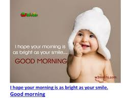 Good Morning Baby Quotes Best of Cute Good Morning Baby Images And Quotes