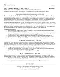 cio chief information officer resume cio resume