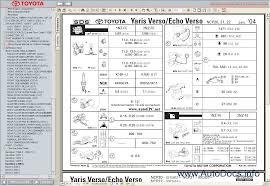 Toyota Yaris Verso / Echo 1999-2005 Service Manual repair manual ...