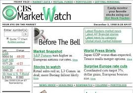 The radical idea that remains MarketWatch's guiding principle ...