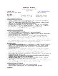Best Photos Of Cv Template Job Sample Job Resume Template Basic