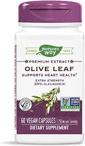Nature's Way Premium Extract Standardized <b>Olive Leaf</b> 20