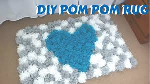 DIY Pom Pom Rug | Bedroom Decor Tutorial