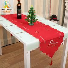 Kerstcadeau Tafelkleed Loper Nieuwjaar Festival Kerstman Thuis