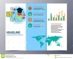 tri fold school brochure template tri fold school brochure template templates ideas