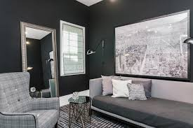 Tricorn Black Sherwin Williams Life In The Fast Lane A Mod And Masculine Willow Grove Home
