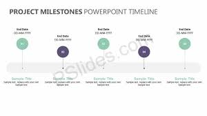 Timeline On Ppt Project Milestones Powerpoint Timeline Powerpoint Diagrams