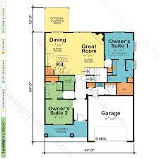 Modular Home Floor Plans Modular Home Floor Plans Master Bedroom Dual Master Suite Home Plans