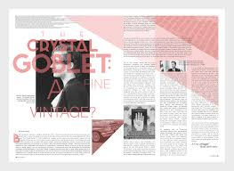 taylor sharpe magazine essay crystal goblet  i wrote an essay arguing the point whether the crystal goblet theory applies to design over time this was then superimposed into a magazine article