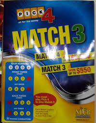 Match 3 In Pick 4 Dewhe