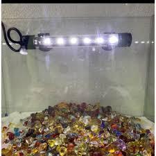 Đèn Led trắng dài 16cm Trang Trí Hồ Cá , Bể Cá. giảm chỉ còn 68,000 đ