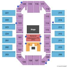 James Brown Arena Tickets And James Brown Arena Seating
