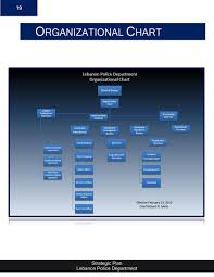 Police Organizational Chart Strategic Plan Lebanon Nh Police Department Page 19