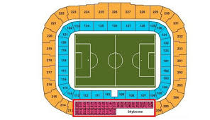 Ny Red Bulls Arena Seating Chart Red Bull Arena Seating Guide The Skyboxes Once A Metro