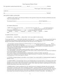 You need a residential lease agreement. 2021 Rental Agreement Fillable Printable Pdf Forms Handypdf