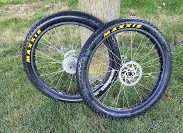 Black size front:15*150mm rear : 2017 29 Fat Bike Wheelset 150 197 With Tires Etc For Sale