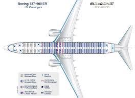 seating plan boeing 737 900er
