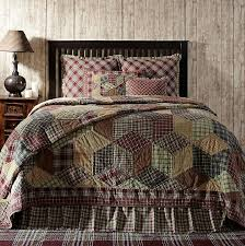 Jackson Tan, Green and Burgundy Quilts Bedding and Accessories by ... & Jackson Tan, Green and Burgundy Quilts Bedding and Accessories by Lasting  Impressions Adamdwight.com