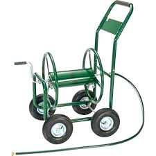 garden hose reel cart. Lowes Garden Hose Reel Cart New Portable Pipe Holder .
