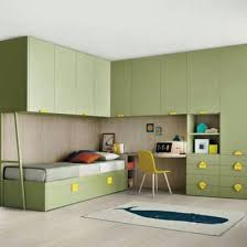 Italian Kid Furniture Corner Bridge Unit Room Bedroom Furniture