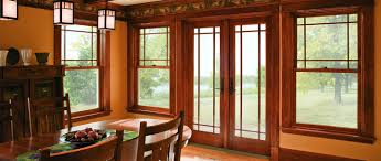 A Series Hinged Patio Door