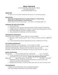 Associates Degree On Resume Experimental Impression Harvard