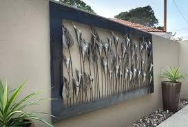 outdoor wall art metal nz