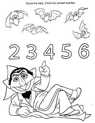 Sesame Street Coloring Pages Birthday Sesame Street Color Pages